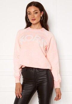 Michael Michael Kors Kors Logo Sweatshirt Powder Blush Bubbleroom.fi