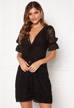 Michael Michael Kors Lux Medallion Lace Dress Black Bubbleroom.fi