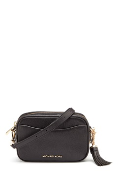 Michael Michael Kors Mercer Crossbody Black Bubbleroom.fi