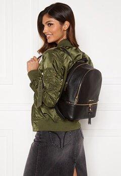 Michael Michael Kors Rhea Zip Backpack 001 Black Bubbleroom.fi