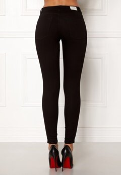 CHEAP MONDAY Mid Spray Jeans Black Bubbleroom.fi