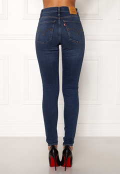 LEVI'S Milehigh Superskinny Jeans Breakthrough Blue Bubbleroom.fi