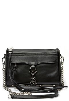 Rebecca Minkoff Mini Mac Bag 001 Black/Silver Bubbleroom.fi