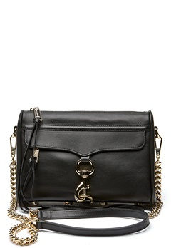 Rebecca Minkoff Mini Mac Bag 001 Black/Light Gold Bubbleroom.fi