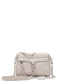 Rebecca Minkoff Mini Mac Leather Bag Putty Bubbleroom.fi