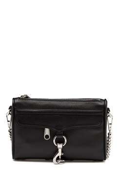 Rebecca Minkoff Mini Mac Pebble Strap Bag Black Bubbleroom.fi
