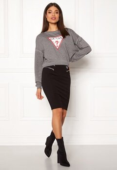 Guess Miriam Skirt Jet Black Bubbleroom.fi