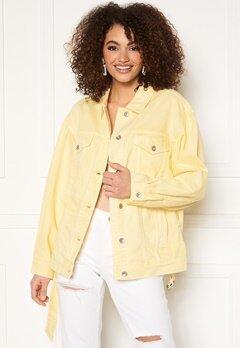 Miss Sixty WJ3750 Jacket Light Yellow Bubbleroom.fi