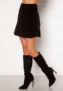 Moa Mattsson X Bubbleroom Knitted short skirt Black Bubbleroom.fi