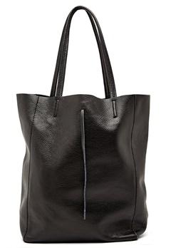 Moda Ex Plain Shopper Bag Black Bubbleroom.fi