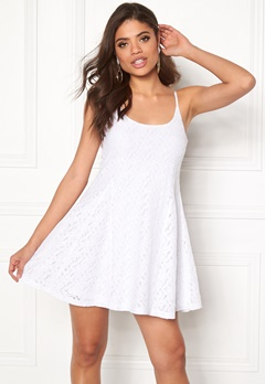 Model Behaviour Nova Dress White Bubbleroom.fi