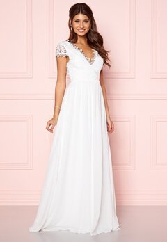 Moments New York Amelia Wedding Gown White Bubbleroom.fi