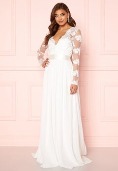 Moments New York Azalea Wedding Gown White Bubbleroom.fi