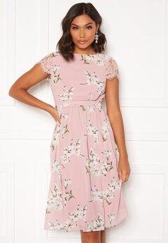 Moments New York Camellia floral Dress Floral Bubbleroom.fi