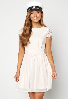 Moments New York Camellia Lace Dress White Bubbleroom.fi