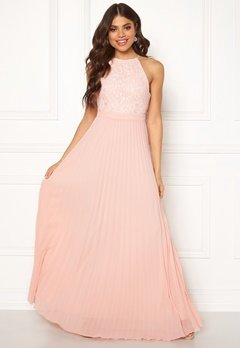 Moments New York Casia Pleated Gown  Bubbleroom.fi