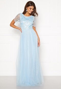 Moments New York Cornelia Beaded Gown Blue Bubbleroom.fi