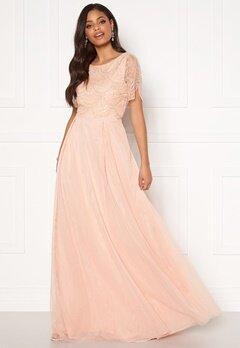 Moments New York Cornelia Beaded Gown Pink Bubbleroom.fi