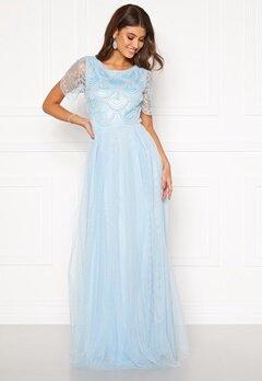 Moments New York Cornelia Beaded Gown Blue Bubbleroom.fi