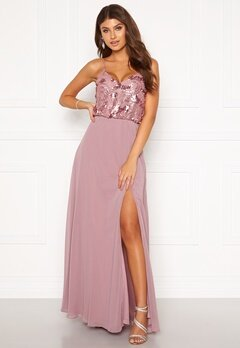 Moments New York Elouise Sequin gown Dusty lilac Bubbleroom.fi