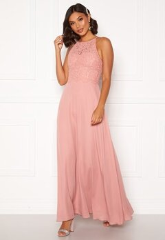 Moments New York Evelyn Lace Gown Pink Bubbleroom.fi