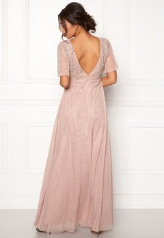 Moments New York Fleur Mesh Gown Light lilac Bubbleroom.fi