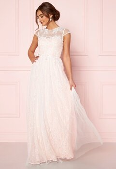 Moments New York Florentina Wedding Gown White Bubbleroom.fi