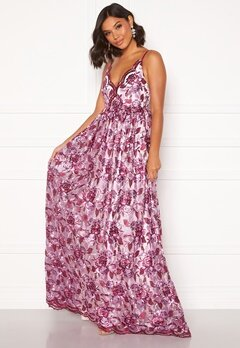 Moments New York Gardenia Floral Gown   Floral Bubbleroom.fi