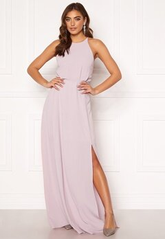 Moments New York Heather Crepe Gown Pink Bubbleroom.fi