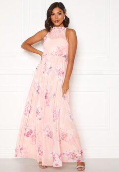 Moments New York Lavender Floral Gown Floral Bubbleroom.fi