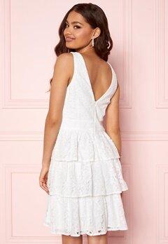Moments New York Lemonie Lace Dress White Bubbleroom.fi