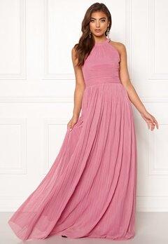 Moments New York Linnea Pleated Gown Dusty pink Bubbleroom.fi