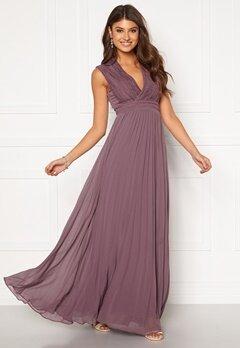 Moments New York Loana Crochet Gown Light lilac Bubbleroom.fi