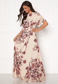 Moments New York Maja Printed Gown Floral Bubbleroom.fi