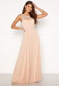 Moments New York Ophelia Lurex Gown Light pink bubbleroom.fi