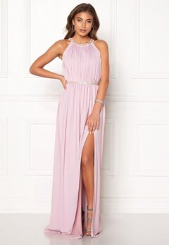 Moments New York Rose Draped Gown Dusty lilac bubbleroom.fi