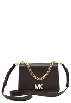 Michael Michael Kors Mott Chain Shoulder Bag Black Bubbleroom.fi