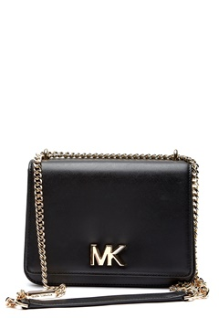 Michael Michael Kors Mott LG Chain Shoulder 001 Black Bubbleroom.fi