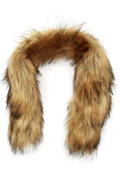 Mountain Works Faux Fur Trim 200 Brown Bubbleroom.fi
