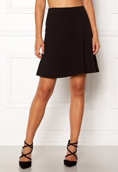 Boomerang Munte Interlock Skirt Black Bubbleroom.fi