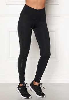 NEBBIA One Tone Pattern Tights Black Bubbleroom.fi