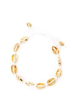 Pieces Nella Bracelet Gold Bubbleroom.fi