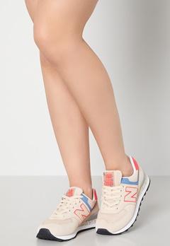 New Balance WL574 Sneakers Beige bubbleroom.fi