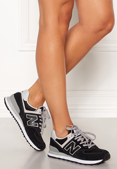 New Balance WL574 Sneakers Black/White Bubbleroom.fi