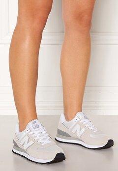New Balance WL574 Sneakers Vit/Beige Bubbleroom.fi