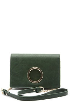 ONLY New Belma PU Crossbody Green Gables Bubbleroom.fi