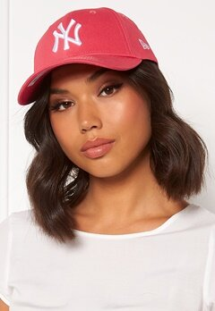 New Era 940 League Essential Coral White Bubbleroom.fi