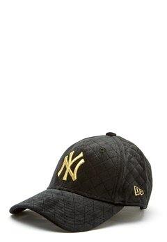 New Era 9Forty Velvet Cap BLKGLD Bubbleroom.fi
