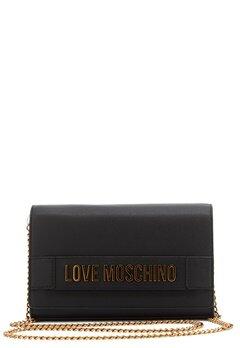 Love Moschino New Evening Bag 000 Black Bubbleroom.fi