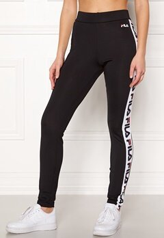 FILA New Holly Leggings Black Bubbleroom.fi